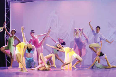 Dance compeition group